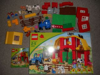 Lego Duplo 5649 Big Farm Set Complete in Box Nice