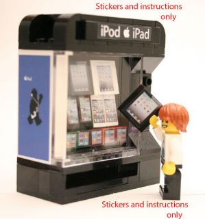 Lego Custom Vending Machine Accessories 10185 10182 Instructions