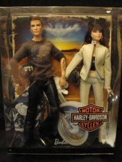 Harley Davidson Barbie Ken Set
