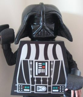 Custom Lego Star Wars Darth Vader Halloween Costume Display