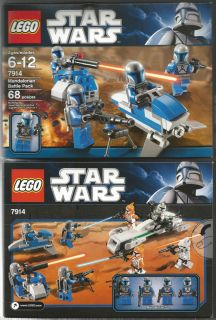 Lego Star Wars Mandalorian Battle Pack Set 7914 Factory SEALED