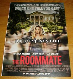 The Roommate 2011 Movie Ad clipping 1 Page Leighton Meester