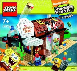 Lego 3825 Spongebob Krusty Krab Instruction Manual