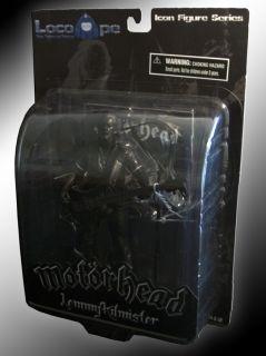 Motorhead Lemmy RARE Black Heavy Metal Action Figure Le
