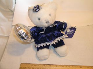 Lee Capozzi Authentic Millenium Bear w Balloon Authentication Nice