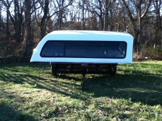 Leer Fiberglass camper Shell for Ford Super Duty Longbed