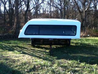 Leer Fiberglass camper Shell for Ford Super Duty Longbed