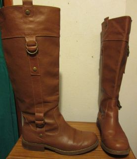Ladies Old Navy Brown Knee High Boots Size 9