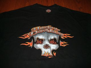 HARLEY DAVIDSON LEESBURG FL SHORT SLEEVE T SHIRT MENS XXL MADE USA