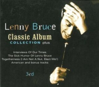 Lenny Bruce Classic Album Collection Plus Remastered Box Set New