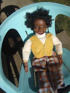Vtg 1973 Lester Ventriloquist Dummy Doll Puppet