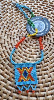 Africa Jewelry Zulu Love Letter Bead Pendant Necklace D
