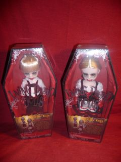 LOT OF TWO MEZCO LIVING DEAD DOLLS SCARY TALES VOL 3 HANSEL AND GRETEL