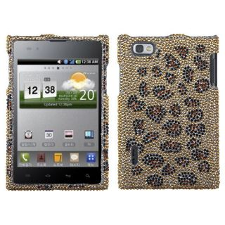 For LG Intuition Crystal Diamond Bling Hard Case Snap on Phone Cover