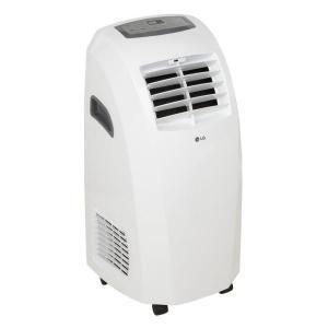 LG Electronics LP0910W 9 000 BTU Portable Air Conditioner Dehumidifier