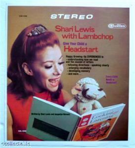Shari Lewis with Lambchop Printers LP Proof 1968