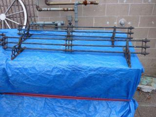 century cast iron SNOW BIRD brackets LEWISTON PA 49 5 L towel rack