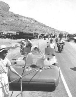 Bluebird Malcolm Campbell 1935 Bonneville Salt Flats
