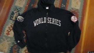 Preowned New York Yankees World Series Hoodie Sweatshirt Size XL