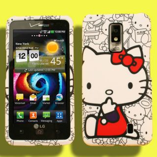 Faceplate Case for LG Spectrum Hello Kitty Holster Hello Kitty Pouch