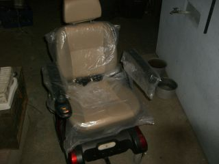 Liberty 312 Electric Wheelchair w Two New Batteries
