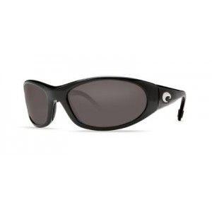 Mar Swordfish Polarized 400 Glass Sunglasses Black Gray 400G Lightwave