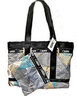LESPORTSAC Weekender in FORCEFIELD Pattern Medium Travel Tote Bag 2