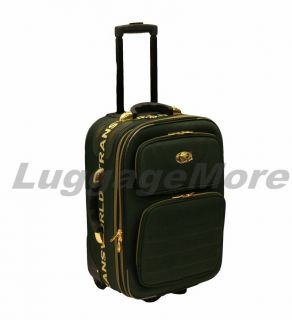 Expandable Rolling Upright Suitcase Travel Wheeled Carry on Luggage
