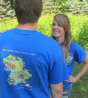 Bavaria Tour Shirt of Bayerntrips Oktoberfest Tours