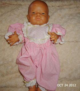 Anatomically Correct Girl Newborn 16 Berenguer Reborn Vinyl Baby Doll