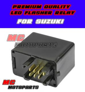Flasher Relay LED Turn Signals Light Suzuki DR Z 400 GSXR 600 750 1000