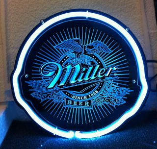 SD083 Miller Beer Bar Pub Store Shop Display Neon Light Sign