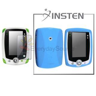 For LeapPad Explorer Insten Light Blue Skin Case Soft Cover Screen