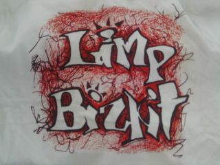 Limp Bizkit Black Red Logo T Shirt New Size Large