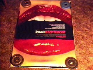 Inside Deep Throat 27X4O Movie Poster 2S Linda Lovelace