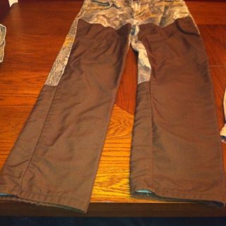Mens Pro Gear Realtree Hardwoods Camo Brush Pants Size 34x32