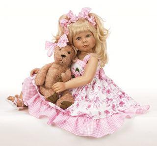 Linda Rick Dollmaker Lil Miss Hug A Bug 32 Artist Doll