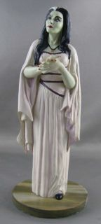 Lily Munster Danbury Mint figure figurine coldcast porcelain TV series