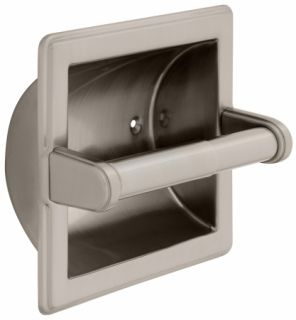 Liberty Hardware Bath Unlimit Recessed Toilet Paper Holder With