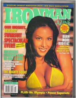 Muscle Fitness Magazine Swimsuits Linda ONeil Winter 1999