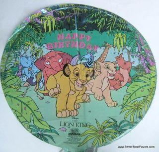 Lion King Simba Decoration Party Supplies Balloon Mylar Birthday