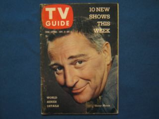 27 1958 TV Guide SEA HUNT THE RIFLEMAN VALERIE FRENCH JACK LINKLETTER