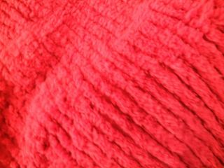 VTG CHENILLE QUEEN LIPSTICK RED BEDSPREAD COMFORTER 2 PILLOW SHAMS 100
