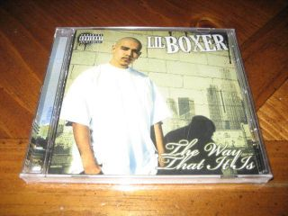 Chicano Rap CD Lil Boxer The Way That It Is West Coast