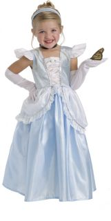 Little Adventures Cinderella Princess Blue Dress Up Costume Dress s M