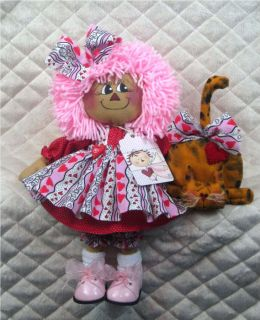 Primitive Raggedy Little Annie Kitty by Ginger Creek Crossing