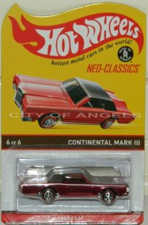 Wheels Lincoln Continental Mark III RLC Neo Classics Series 11