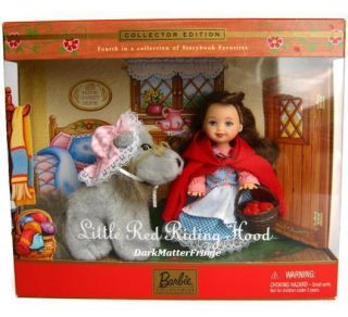 little Red Riding Hood And Wolf Kelly Doll Giftset Barbie Storybook