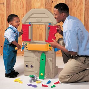 Sale Home Improvements 2 Sided Toddler Workbench Tool Bench 4 Projects