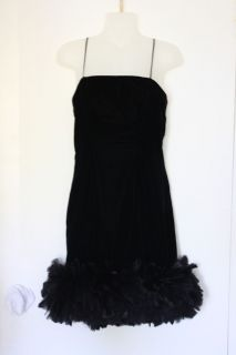 Lillie Rubin Women Beautiful Little Black Dress Size 4